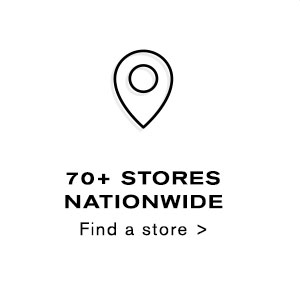 70+ stores Nationwide